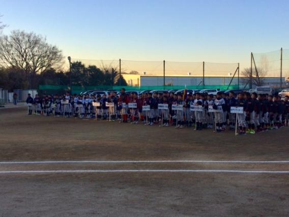開催中!!第11回深山旗争奪少年野球大会(新A戦、新B戦)
